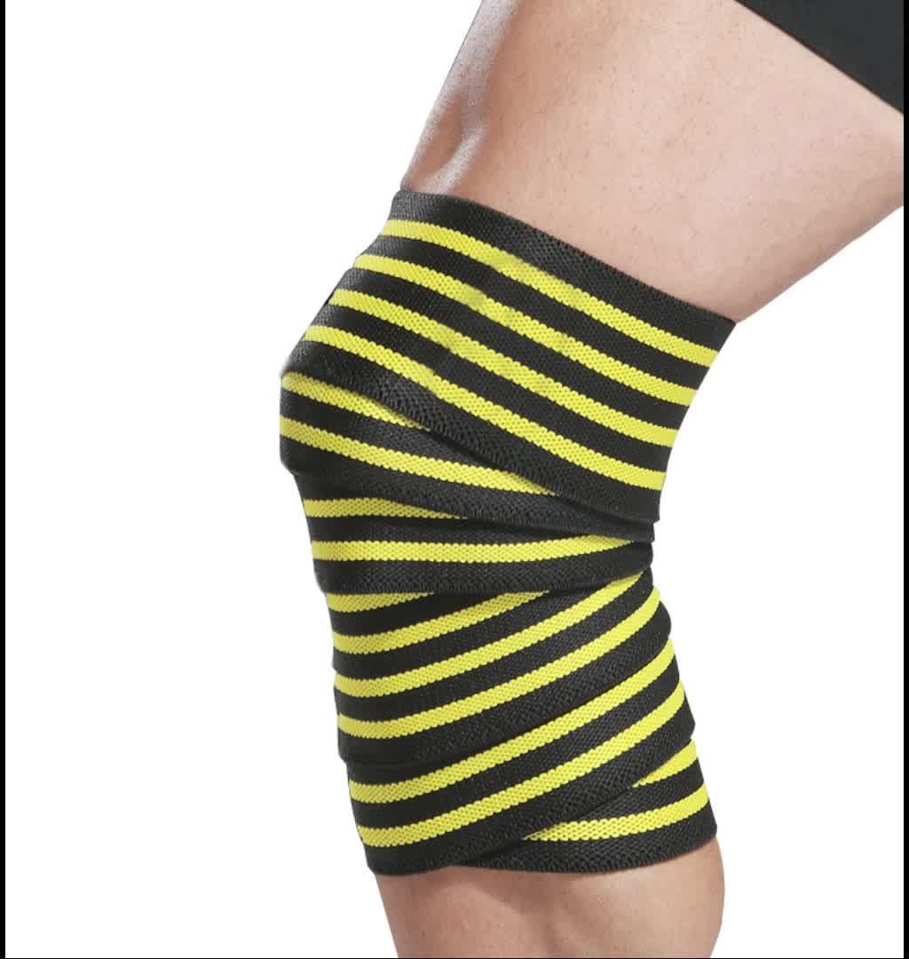 Wholesale Customized High Elastic Compression Knee Protector bandage Rodillera