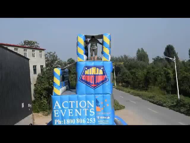 Free Fall Freefall Double Stunt Jump Zero Shock Inflatable