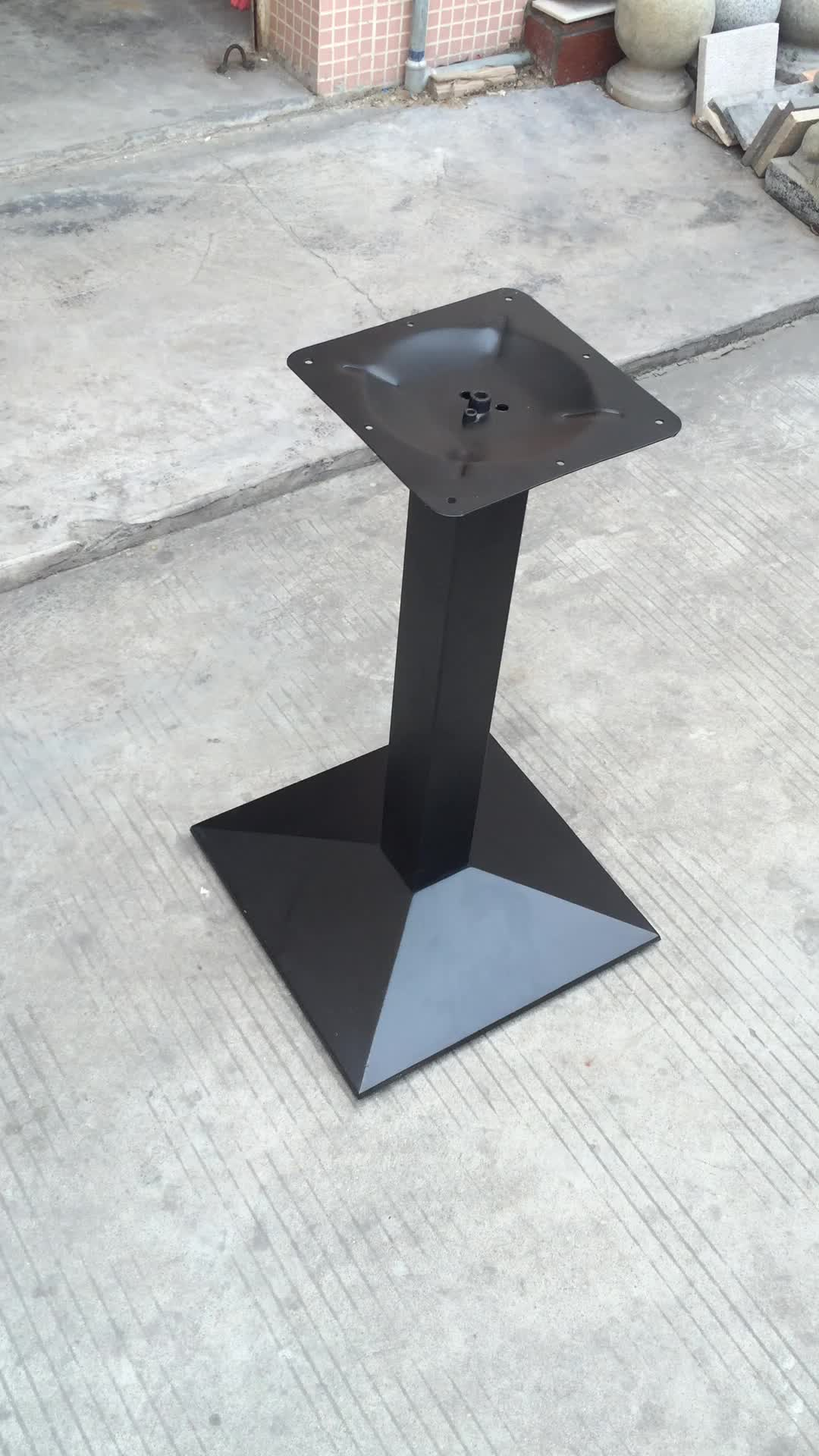Zhuoyue hardware supply 720mm height restaurant stand for Cast iron furniture legs for sale