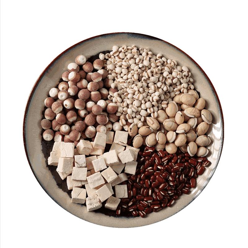 500克祛湿茶炒熟薏米仁赤小豆芡实茯苓祛湿粥红豆薏仁米茶去湿气