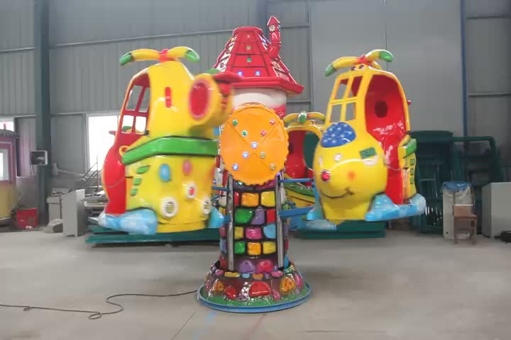 Hottest Sale ! Cheap Price smaller amusement rides playground kids swing helicopter