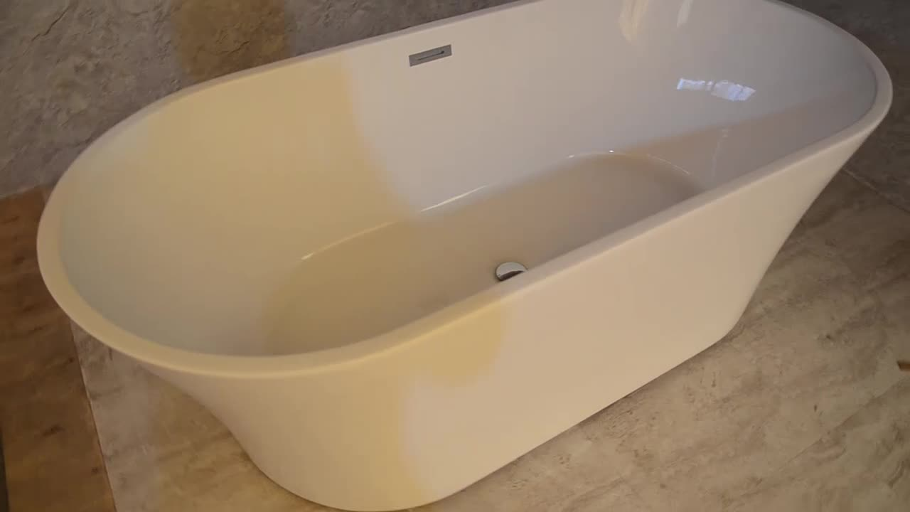 Hs-b529 Movable Low Price Simple Bathtub For Sale - Buy Price Simple ...