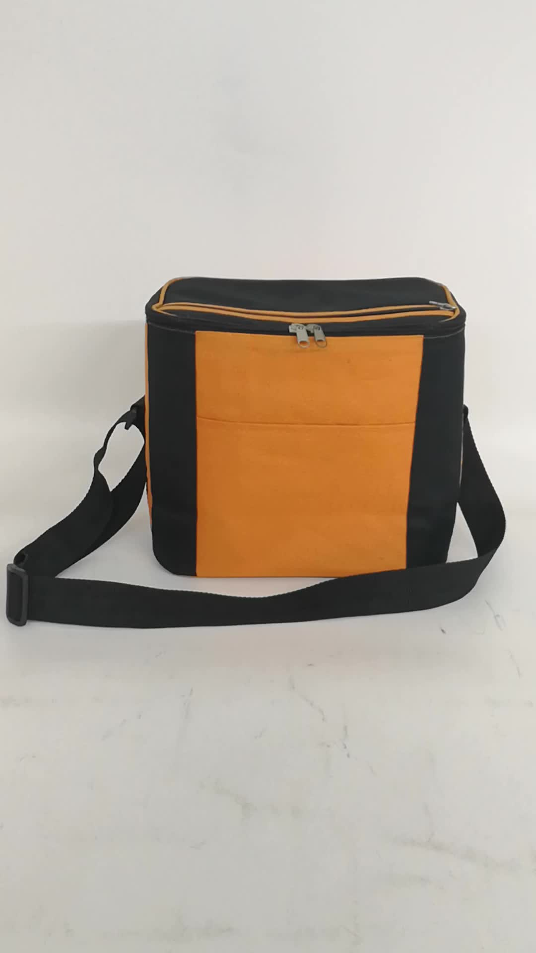 Portable Cooler Bags with 7 cans capacity Promotional Lunch bags available  for custom(China)
