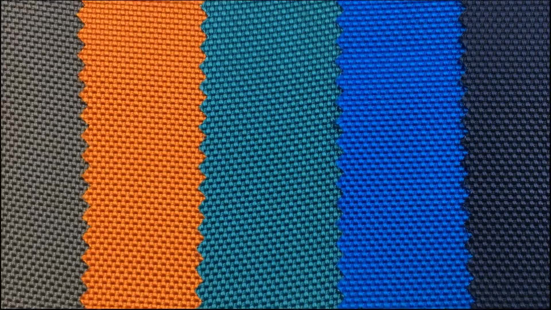 puncture resistant pu coated 1680D ballistic nylon fabric for bags backpack