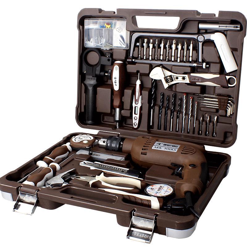 ak多功能套装维修电工组套工具箱质量如何