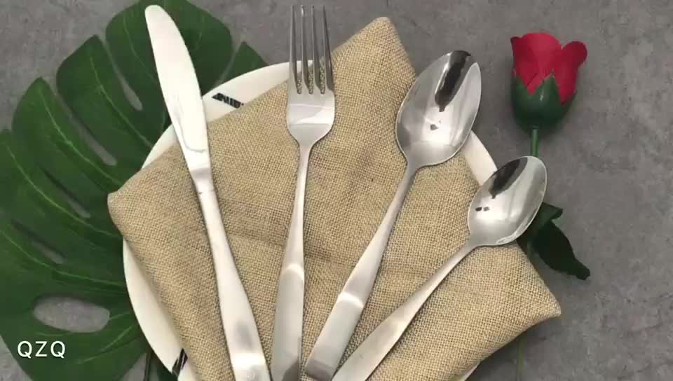 royal stainless steel mirror polish antique cutlery set
