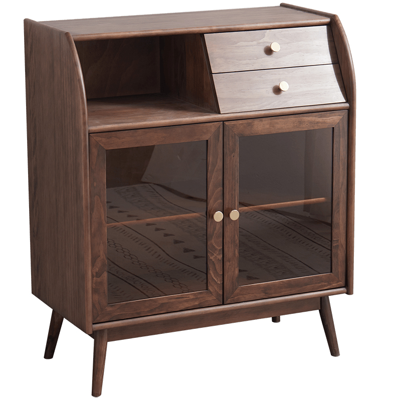 尚品实木厨房客厅北欧日式餐边柜怎么样