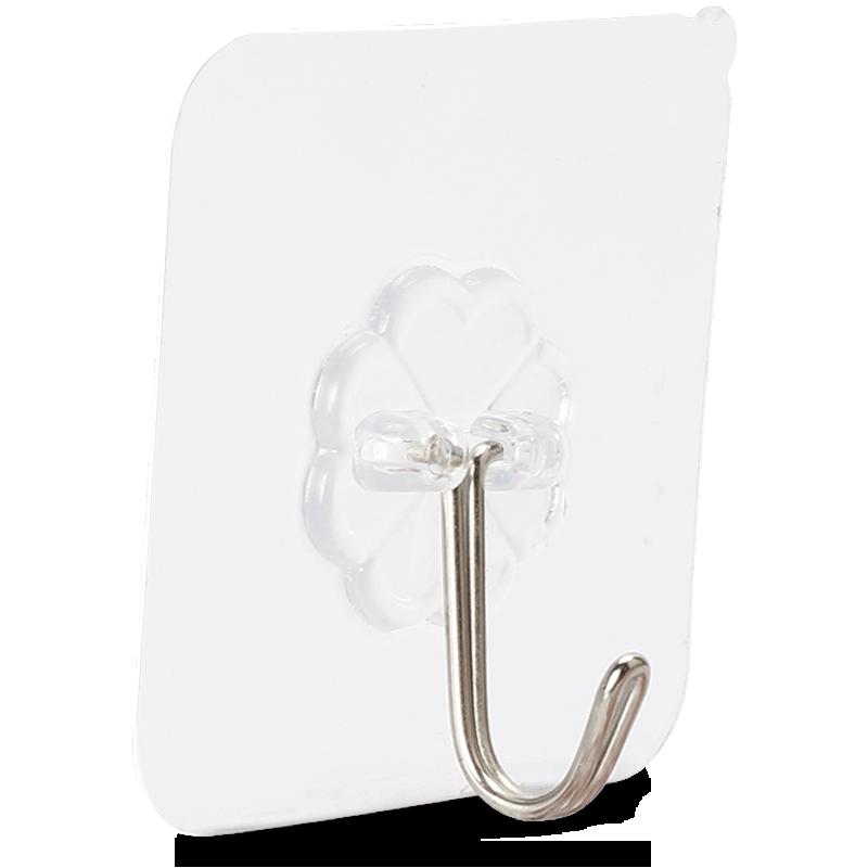 挂钩强力粘胶门后免打孔粘钩墙壁壁挂无痕承重吸盘厨房挂勾衣帽钩
