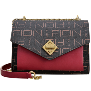 fion /菲安妮新款链条欧美斜挎小包可在爱乐优品网领取100元天猫优惠券
