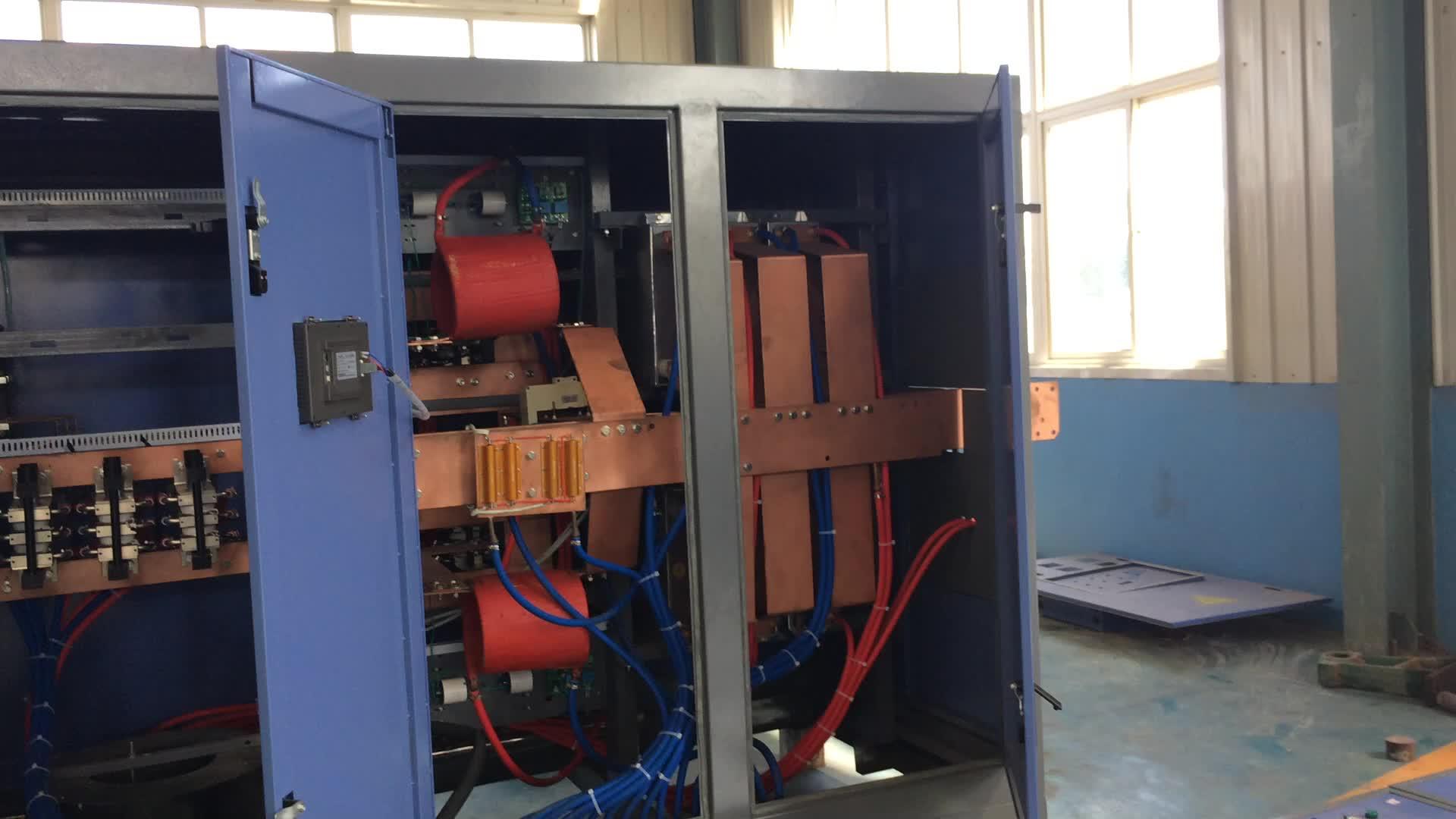 1-10 톤 전기 아크로/EAF 강철 만들기