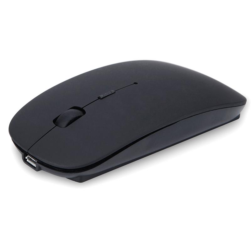 适用小米华硕惠普苹果联想无线鼠标女生可充电式静音笔记本锂电池