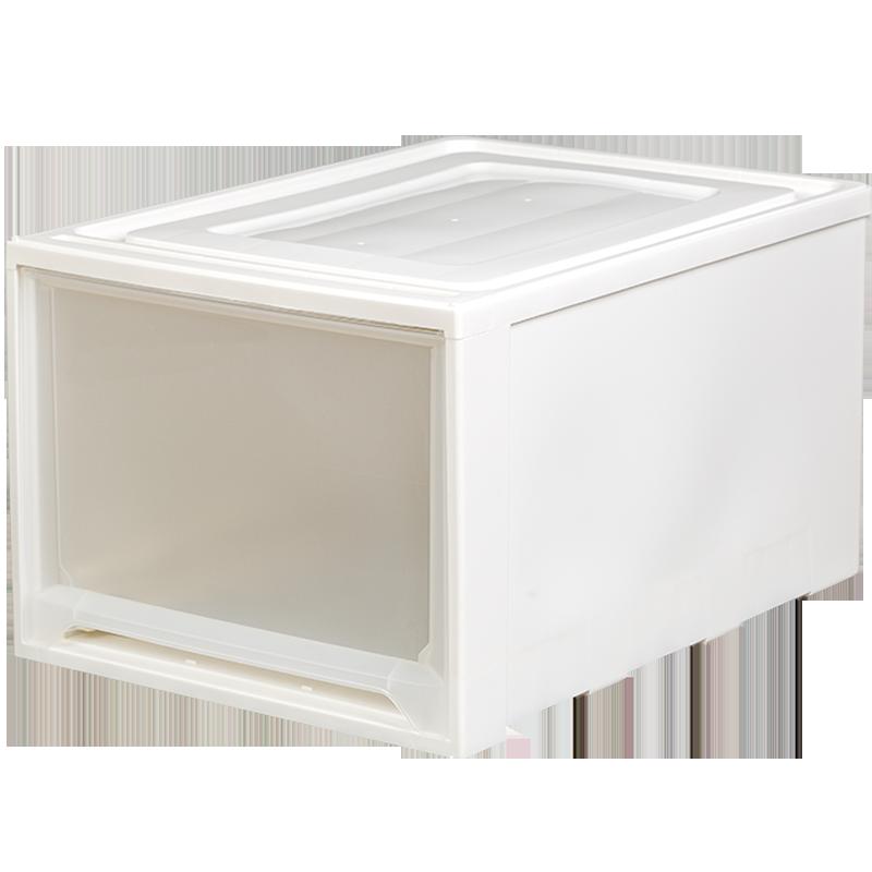 爱丽思IRIS收纳箱深抽屉式收纳盒塑料家用整理箱内衣储物箱爱丽丝