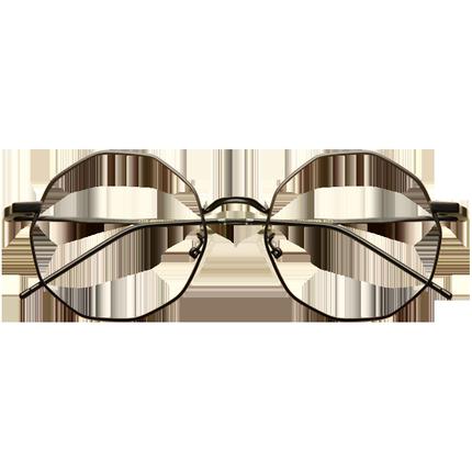 个性多边形不规则合金大框眼镜框