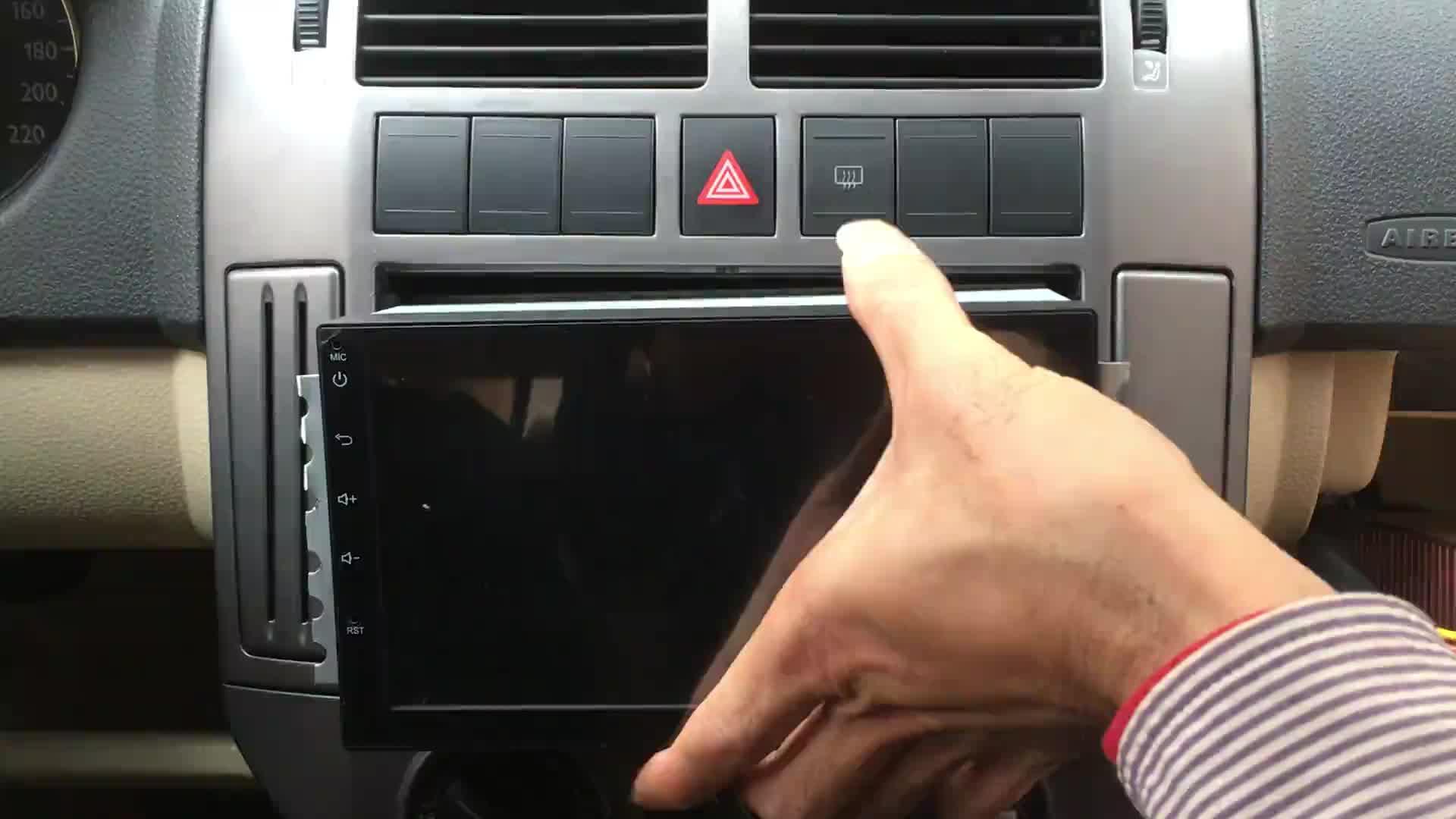 D004 Plug & Play sistema DSP Sound Box saggio EQ audio amplificatore auto 45 W * 4, nessun cablaggio taglio, no speaker di ricambio