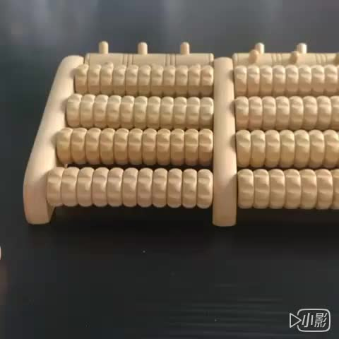 OEM high quality personal roller wooden body foot massager