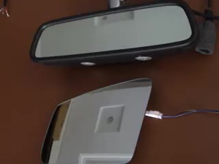 Good Quality Electric Car Mirror With Blind Spot Monitor System For Range Rover Vogue 2013-2017