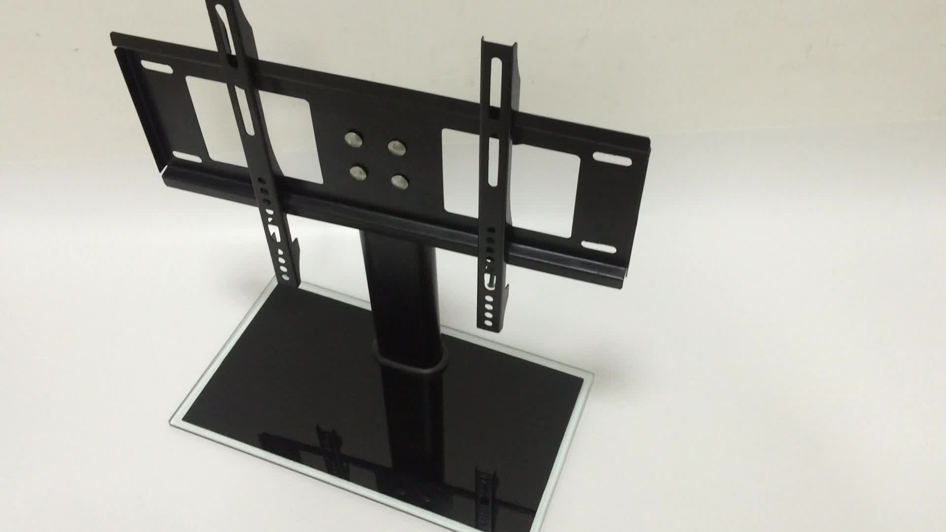 tv stand with vesa wall mount for lcd led 32 55 table. Black Bedroom Furniture Sets. Home Design Ideas