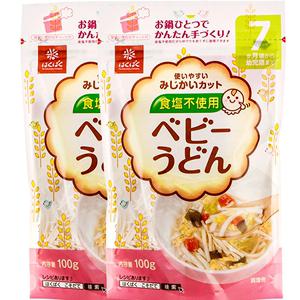 黄金大地面条日本无盐宝宝颗粒面