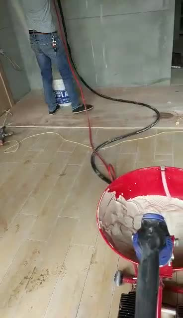 High pressure Wall Cement Putty Spraying plaster machine