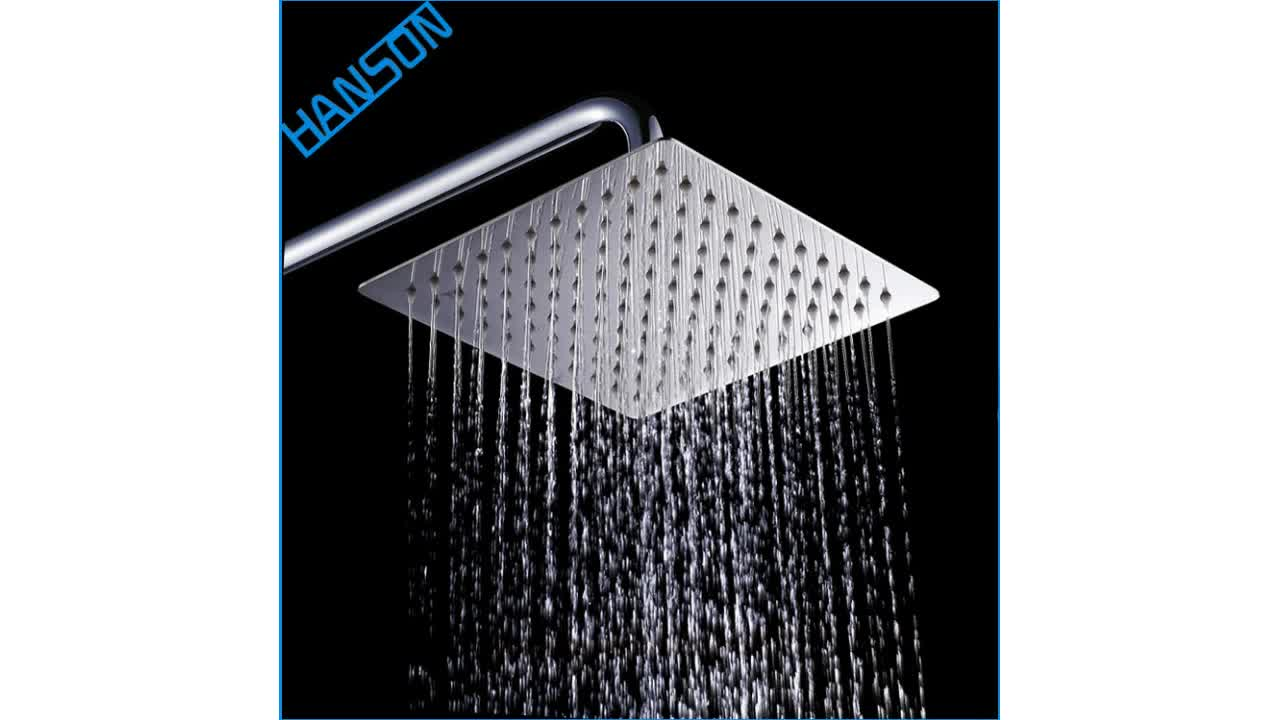 European Italian Smart Low Ceiling Waterfall 24 Inch Rain Shower Head