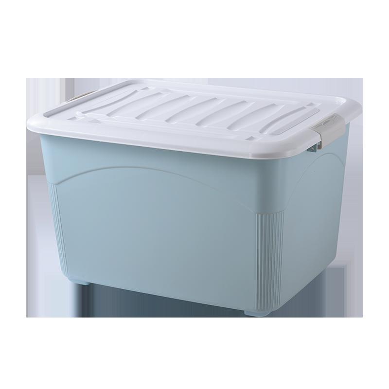 加厚特大号塑料收纳箱家用衣服被子整理储物置物盒子清仓超大容量