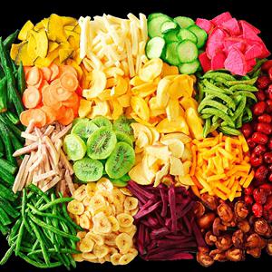 果蔬脆综合什锦脆片果蔬即食水果干