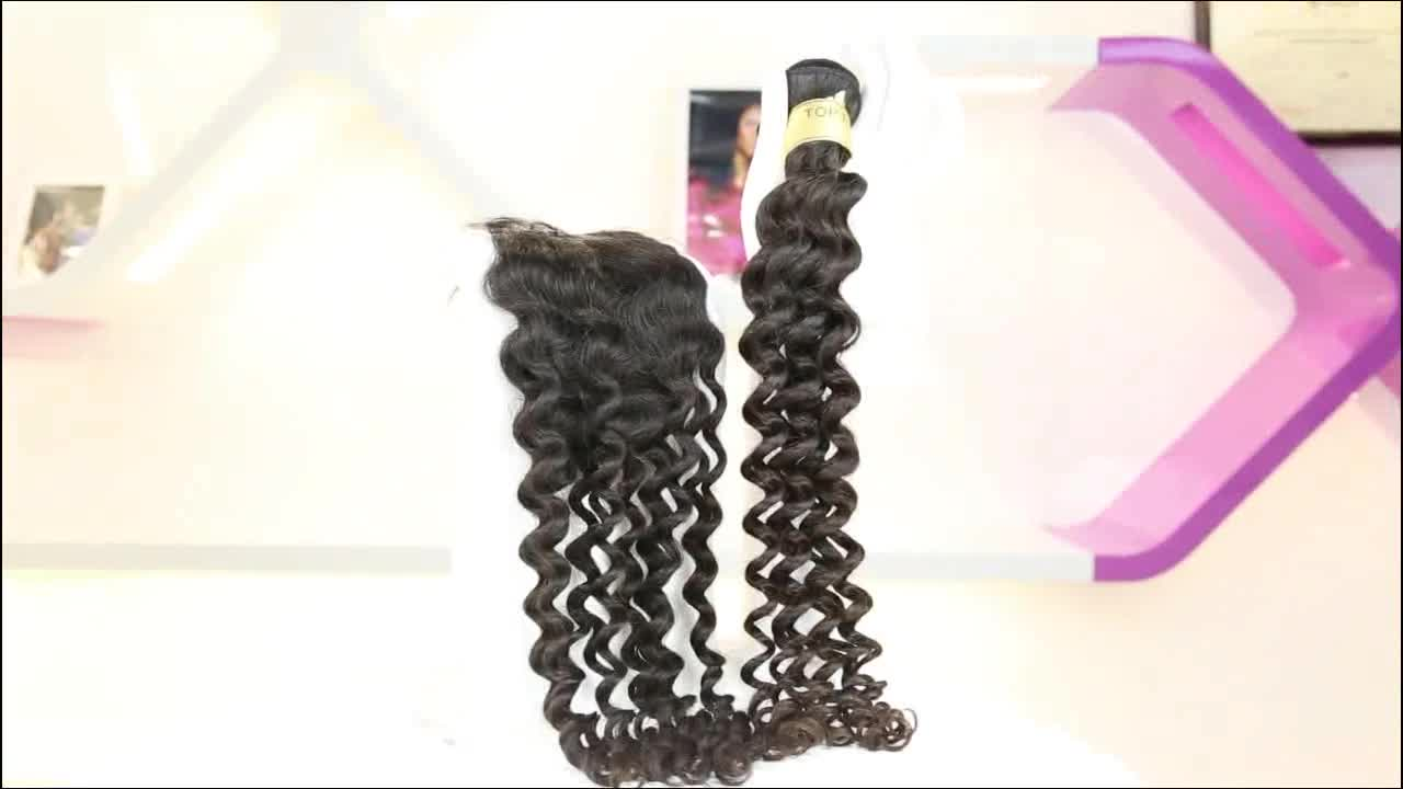 Hot Selling Mink Brazilian Human Hair Different Types Of Curly Weave Hair