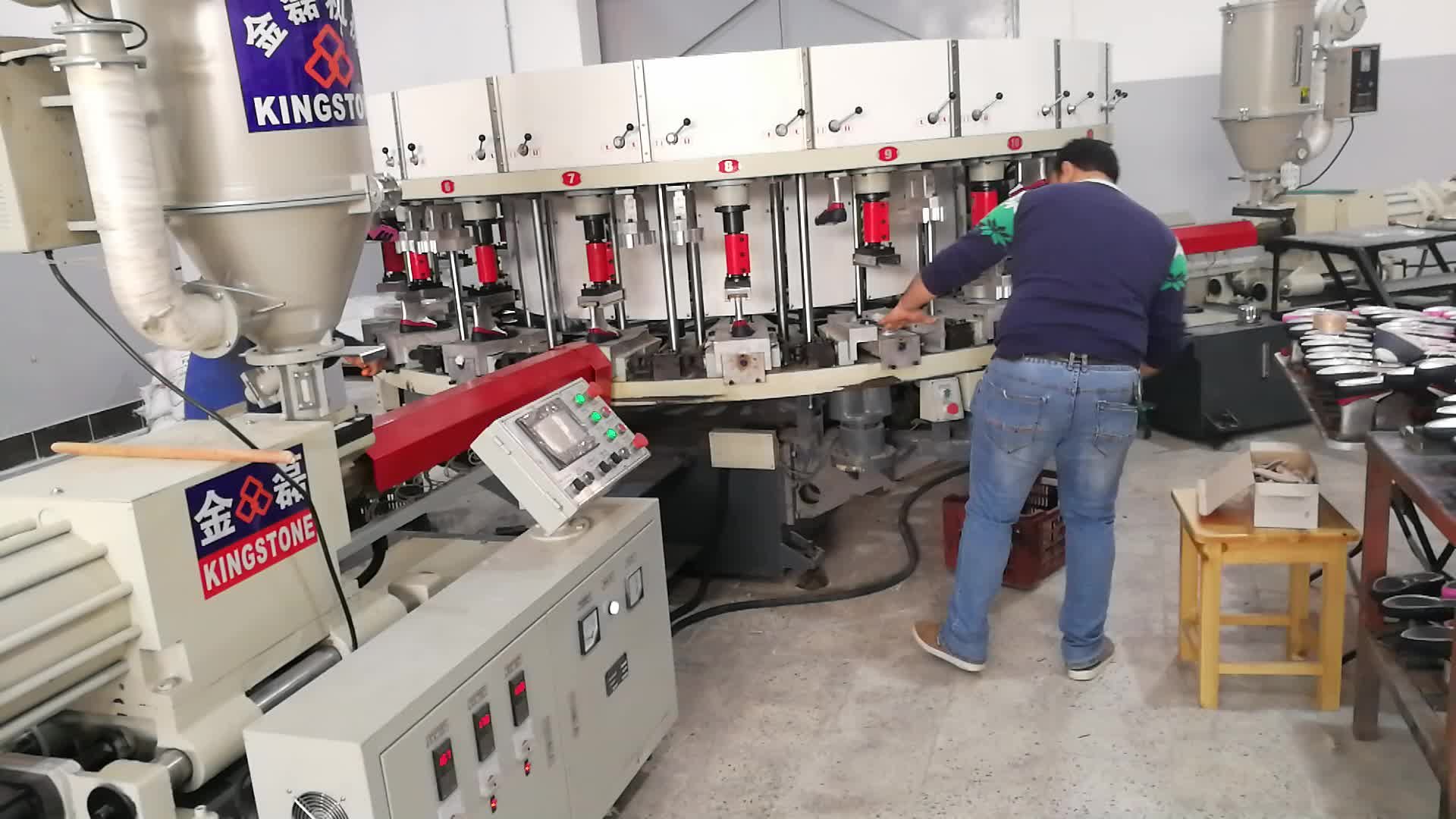 Injection Machine for Shoe (Direct Inject The Materials to Connect Sole with Upper)