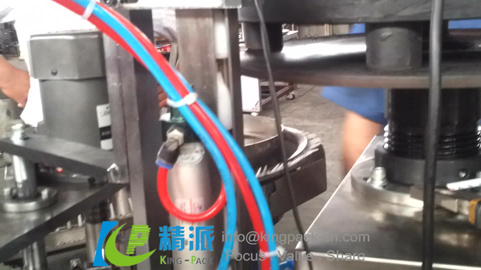 Semi Auto Adhesive Glue Filling Capping Machine For Small