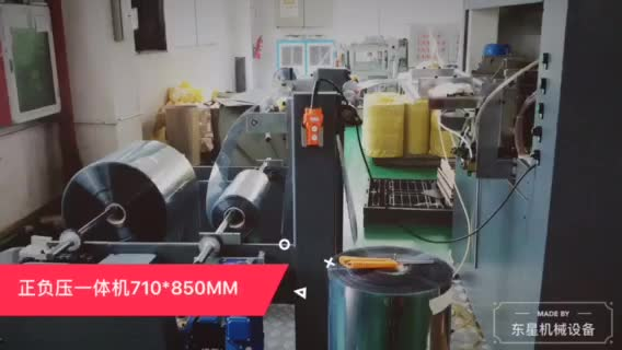 HG-DGD80 Plastic Disposable cup lid Thermoforming Machine