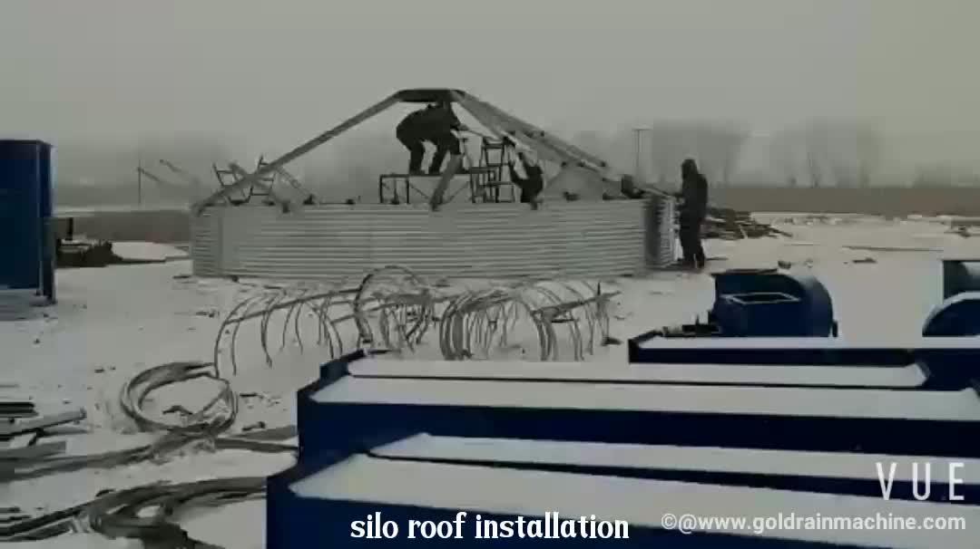 Hot Galvanized Grain Storage Silo Steel Silo