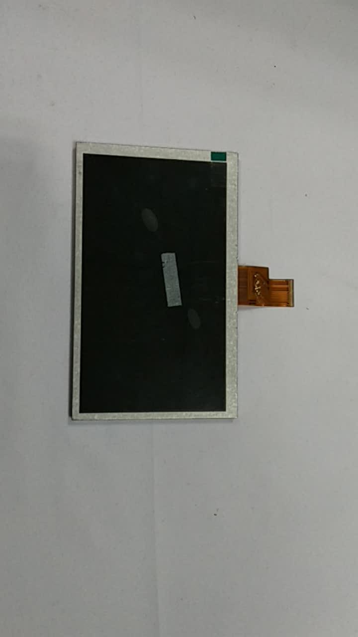 """8 """"TFT Nhà Máy Giá Trong Suốt LCD Mô-đun Cảm Ứng 1024*600 RGB Giao Diện ZJ080NA-08A cho Ngoài Trời Cụ"""
