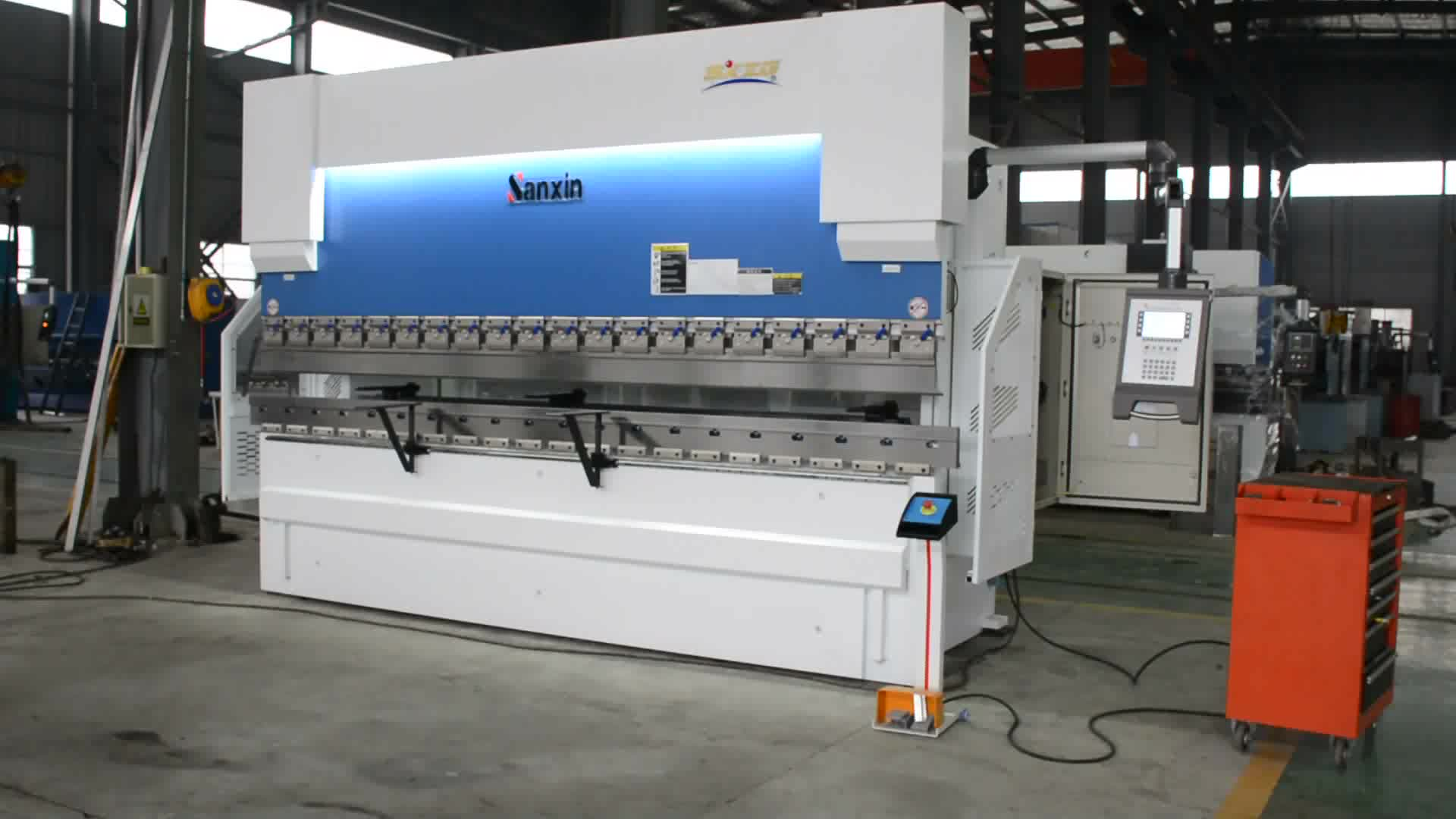 SXZG Marka CNC Hidrolik Pres Fren WC67K-100T / 3200, 2015 ÜST CNC Hidrolik bükme makinesi / pres fren fiyat
