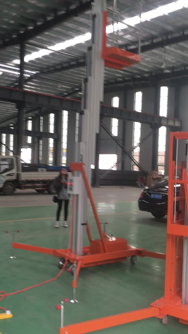 Portable Hvac Lifts : Aerial personal lift leader air conditioning lifting