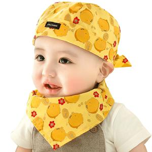 婴儿帽子春秋冬季婴幼儿宝宝海盗帽新生儿纯棉头巾儿童帽夏季薄款