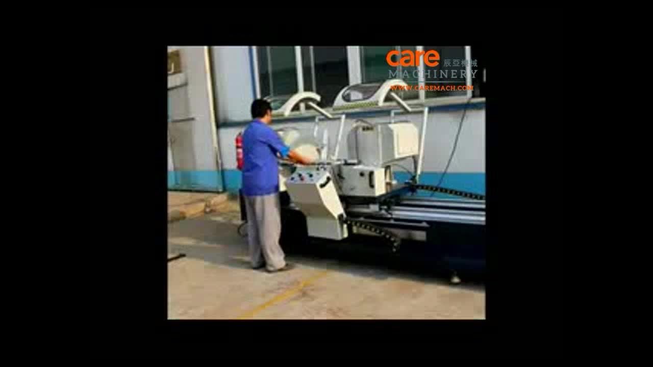 Dubbele Hoofd Snijden Zag Aluminium Raam Machine