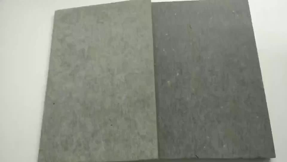 Fiber Cement Textured Waterproof Fireproof Fiber Cement