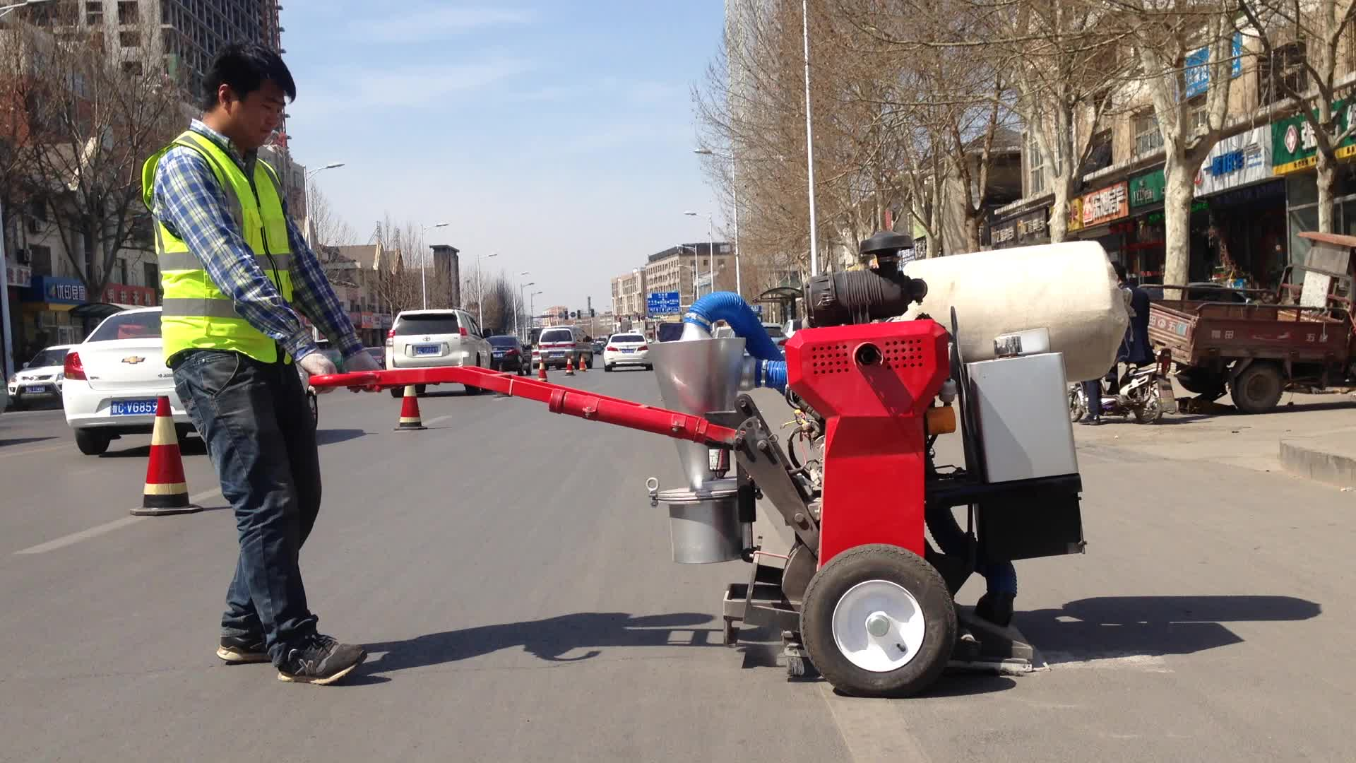 Hot selling Asphalt Road Cutter Machine for wholesales