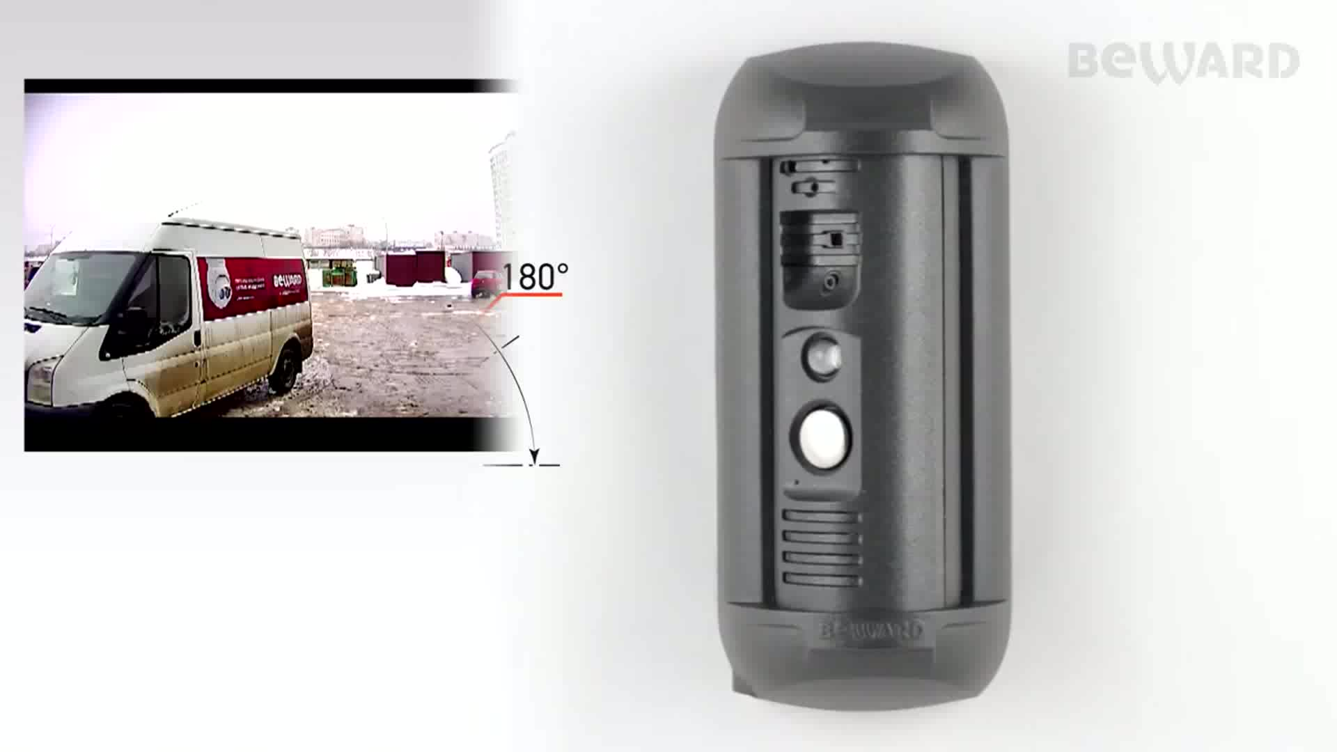 Sip ip video intercom video doorbell system for 3-apartment