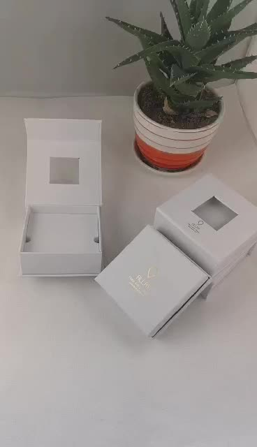 Custom Square Shape Up and Bottom Cover Beautiful Gift Box Holiday Gift Packaging Wedding Present