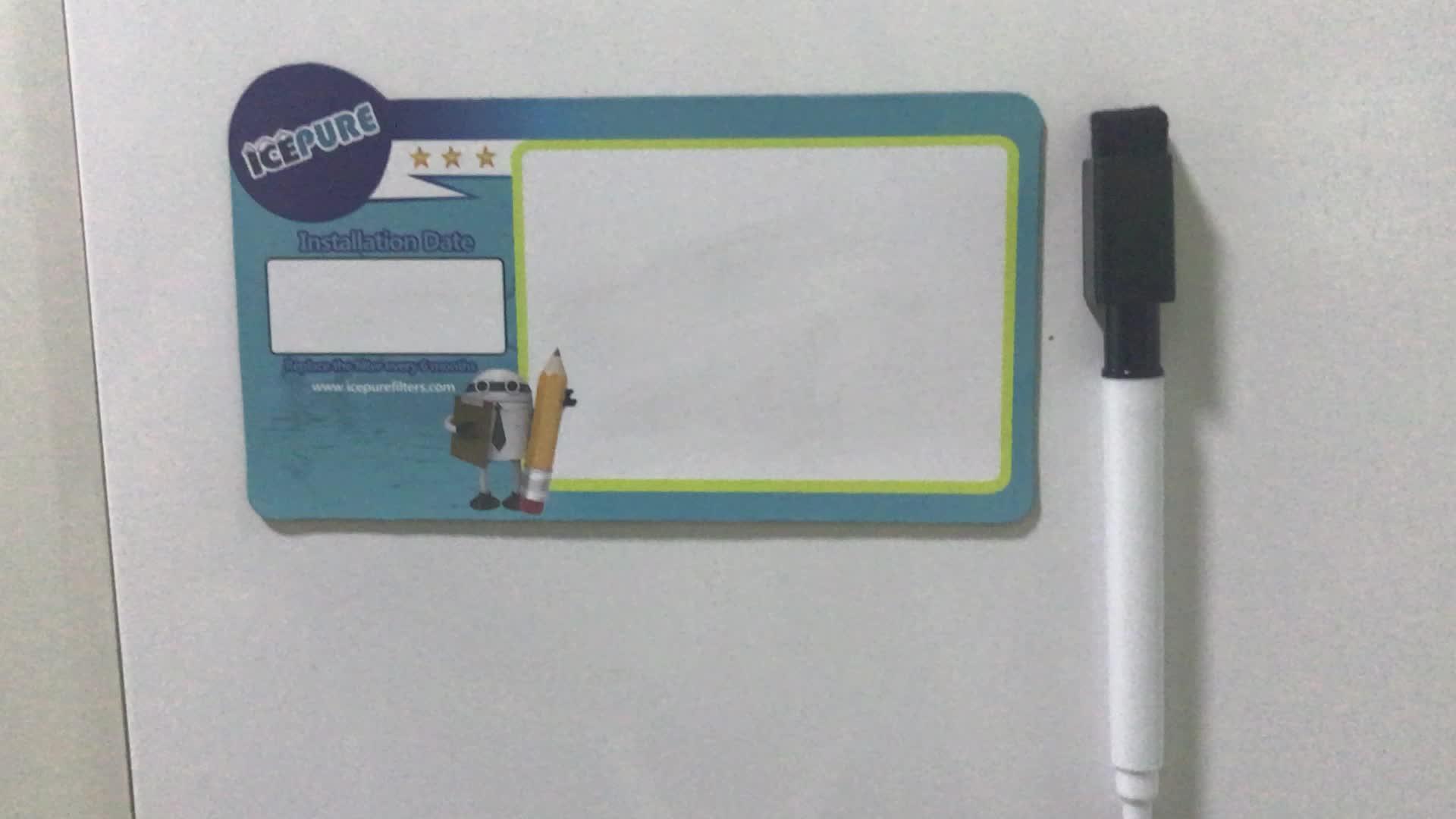 Formato A3 0.8mm Spessore Nuovo Tipo Lavagna Magnetica PVC Morbido Message Board Frigorifero Lavagna Magnetica Lavagna