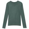 春装2021新款纯棉长袖女小衫t恤值得购买吗