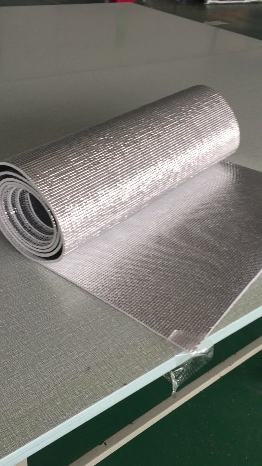 Heat Resistant Sound Aluminum Foil Backed Epe Foam Insulation Alu Foil