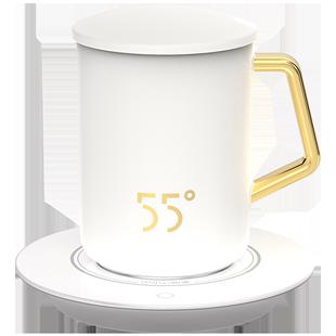 55度创意个性潮流加热杯恒温马克杯