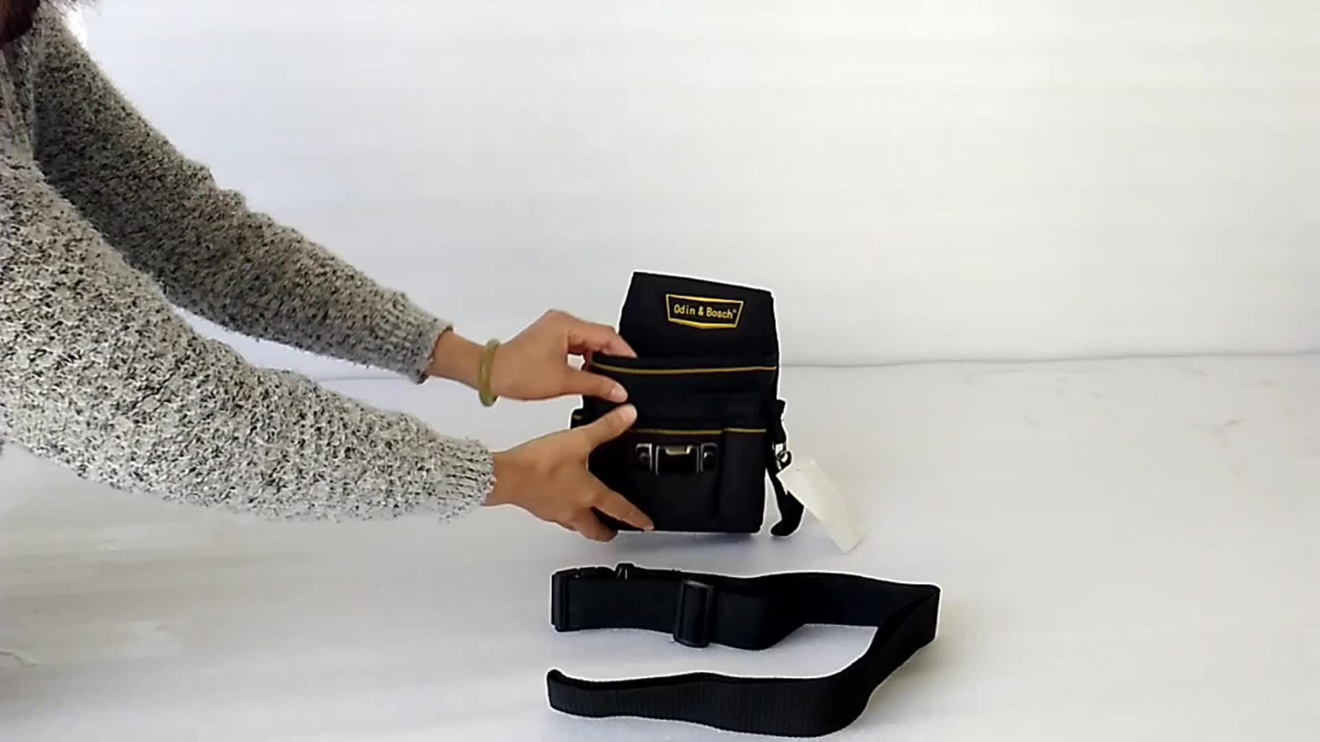 Multifunctional waist tool bags for electrician