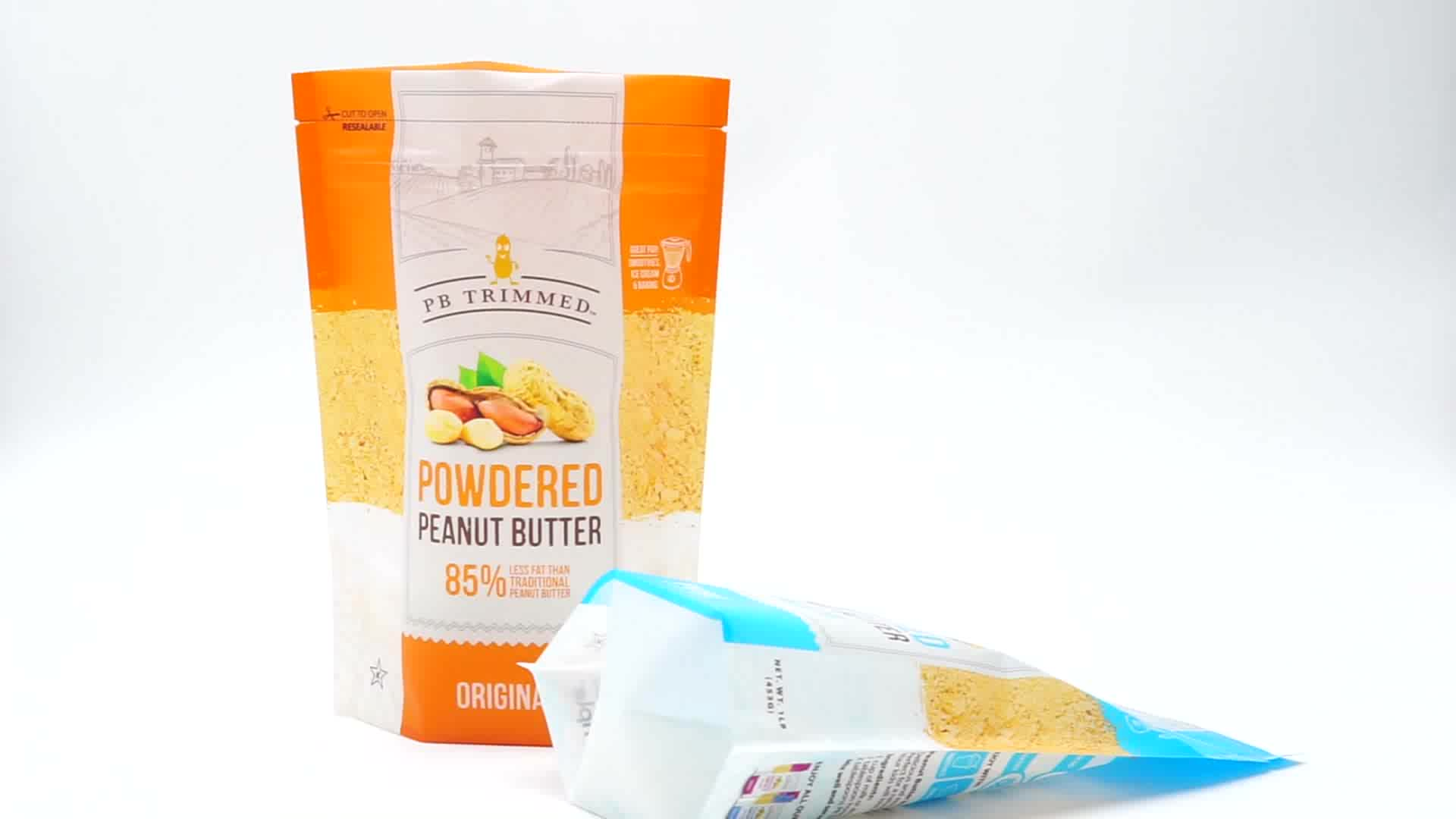 새로운 제품 ISO FDA 재활용 포장 시리얼 단백질 분말 Doy 가방