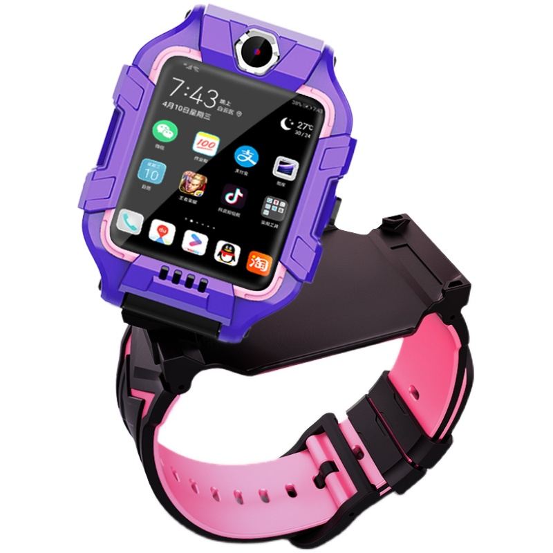 玉猫儿童电话手表4g华为小米电子表怎么样