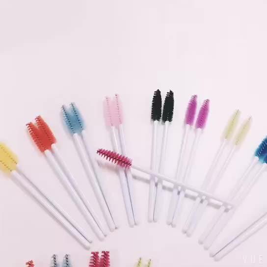 Yaeshii 2019 Disposable Cosmetic Mascara Wands Eyelash Brush