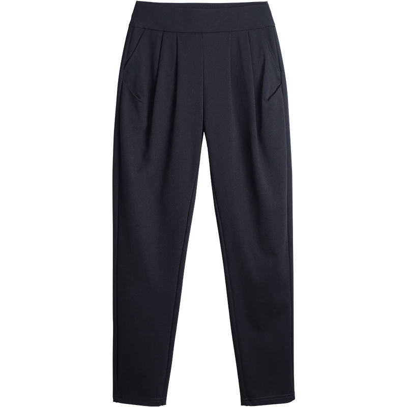 哈伦裤宽松春季2021新款妈妈裤子质量好不好