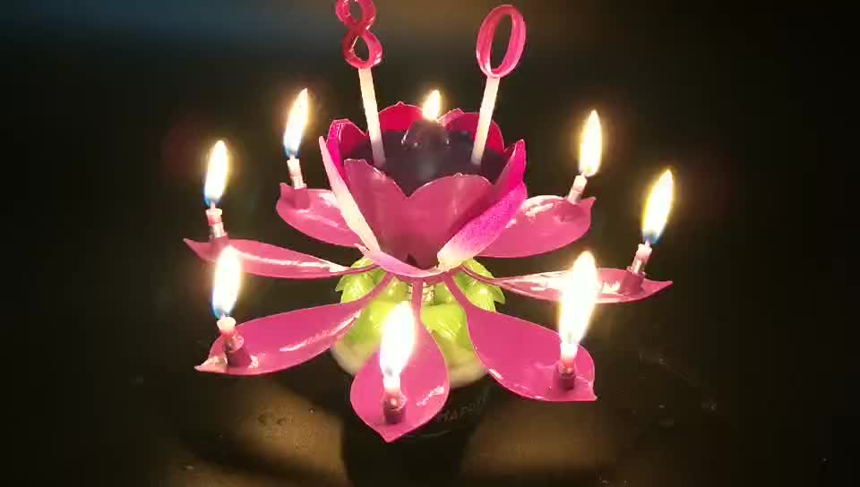 Birthday candle, number candle, birthday number candles